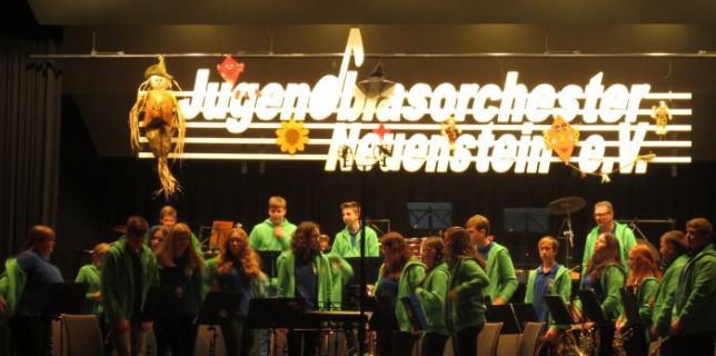 Jugendkapelle on Tour